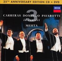 The Three Tenors 25th Anniversary-Luciano Pavarotti, Placido Domingo-CD