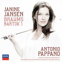 Brahms & Bartok Violin Concertos +-Janine Jansen-CD