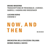 Now, And Then-Bruno Maderna-CD