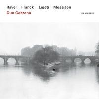 Ravel | Franck | Ligeti | Messiaen-Duo Gazzana-CD