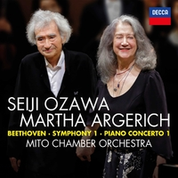 Beethoven: Symphony No.1 In C; Pian-Martha Argerich-CD