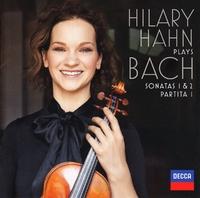 Plays Bach: Violin Sonatas Nos.1 &-Hilary Hahn-CD