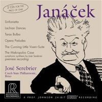 Janacek, Sinfonietta, Etc.-Czech State Philharmonic, Serebrier-CD