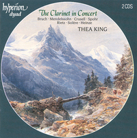 The Clarinet In Concert-Thea King-CD