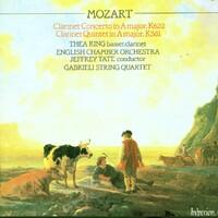 Clarinet Concerto & Quintet-Thea King-CD