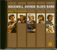 Back To Chicago-Rockwell Avenue Blues Band-CD