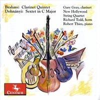 Clarinet Quintet In B Min/Sextet In C Maj-Gray, New Hollywood String Quartet, Thies, Todd-CD