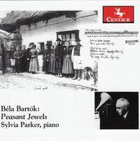 Bela Bartok: Peasant Jewels-Sylvia Parker-CD