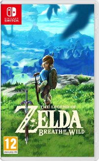 The Legend Of Zelda - Breath Of The Wild-Nintendo Switch