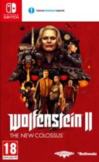 Wolfenstein 2 – New Colossus-Nintendo Switch