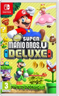 New Super Mario Bros U - Deluxe-Nintendo Switch