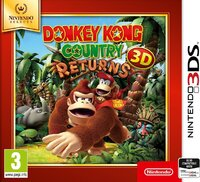 Donkey Kong Country Returns (Selects)-Nintendo 3DS