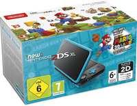 Nintendo 2DS XL (Black & Turquoise) + Super Mario 3D Land-Console
