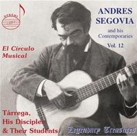 Legendary Treasures - Segovia & His Contemporaries-Andres Segovia-CD