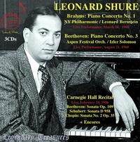 Legendary Treasures - Leonard Shure-Leonard Shure-CD