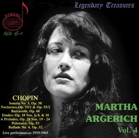 Legendary Treasures - Martha Argerich Vol. 4-Martha Argerich-CD