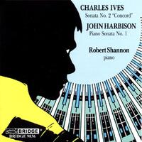 Ives Harbison Piano Sonatas-R. Shannon-CD