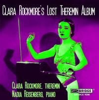 Clara Rockmore's Lost Theremin Album-Reisenberg, Rockmore-CD