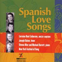 Spanish Love Songs-Barrett, Blier, Hunt Lieberson, Kaiser-CD