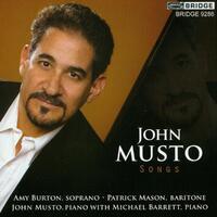 Songs-Barrett, Burston, Mason, Musto-CD