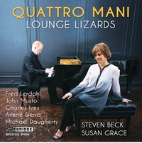 Lounge Lizards-Quattro Mani-CD