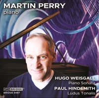Music Of Weisgall And Hindemith-Martin Perry-CD