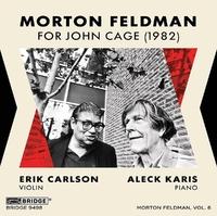 For John Cage (1982)-Erik Carlson-CD