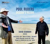 Occam's Razor (New Music With Guitar, Vol. 11)-Poul Ruders-CD