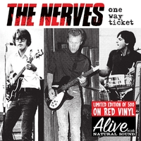 One Way Ticket -Red--LTD--Nerves-LP
