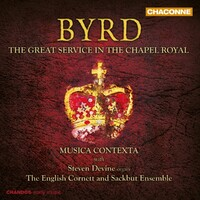 The Great Service In The Chapel-English Cornett And Sackbut Ensembl-CD