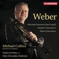 Works For Clarinet&Horn-City Of London Sinfonia-CD