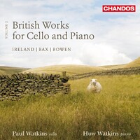 British Works For Cello Vol.2-Paul Watkins-CD