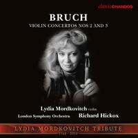 Violin Concertos 2 & 3-Lydia Mordkovitch-CD