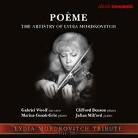 Poeme The Art Of Mordkovitch-Lydia Mordkovitch-CD