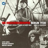 Dreigroschenoper & Berlin 1930-Dietrich, Lenya-CD