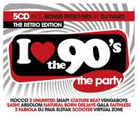 I Love The 90's - The Retro Edition--CD