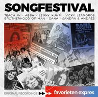 Favorieten Expres - Songfestival--CD