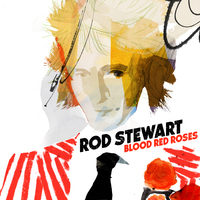Blood Red Roses-Rod Stewart-CD