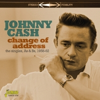 Change Of Address. The Singles As & BS 1958-1962-Johnny Cash-CD