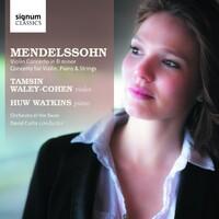 Mendelssohn: Violin Concerto In D Minor / Concerto-Huw Watkins, Tamsin Waley-Cohen-CD
