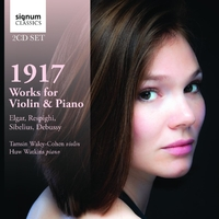 1917: Works For Violin & Piano-Huw Watkins, Tamsin Waley-Cohen-CD