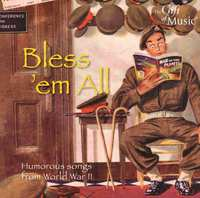 Blessem All Humorous Songs Wwii--CD