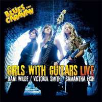 Live-Blues.. -CD+DVD--Girls With Guitars-CD