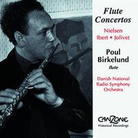 Concertoes For Flute And Orchestra-Poul Birkelund-CD