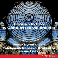 Leo: Six Cello Concertos-Bylsma, Lafelmusik Baroque Orch., Lamon-CD
