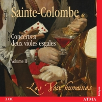 Complete Works For Two Equal Viols, Vol.2-Les Voix Humaines-CD
