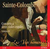 Complete Works For Two Equal Viols, Vol. 4-Les Voix Humaines-CD