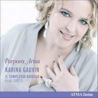 Porpora Arias-Curtis, Gauvin, Il Complesso Barocco-CD