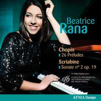 26 Préludes/Sonate Nr 2 Op. 19-Beatrice Rana-CD