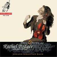 Partitas And Sonatas For Violin Sol-Rachel Podger-CD